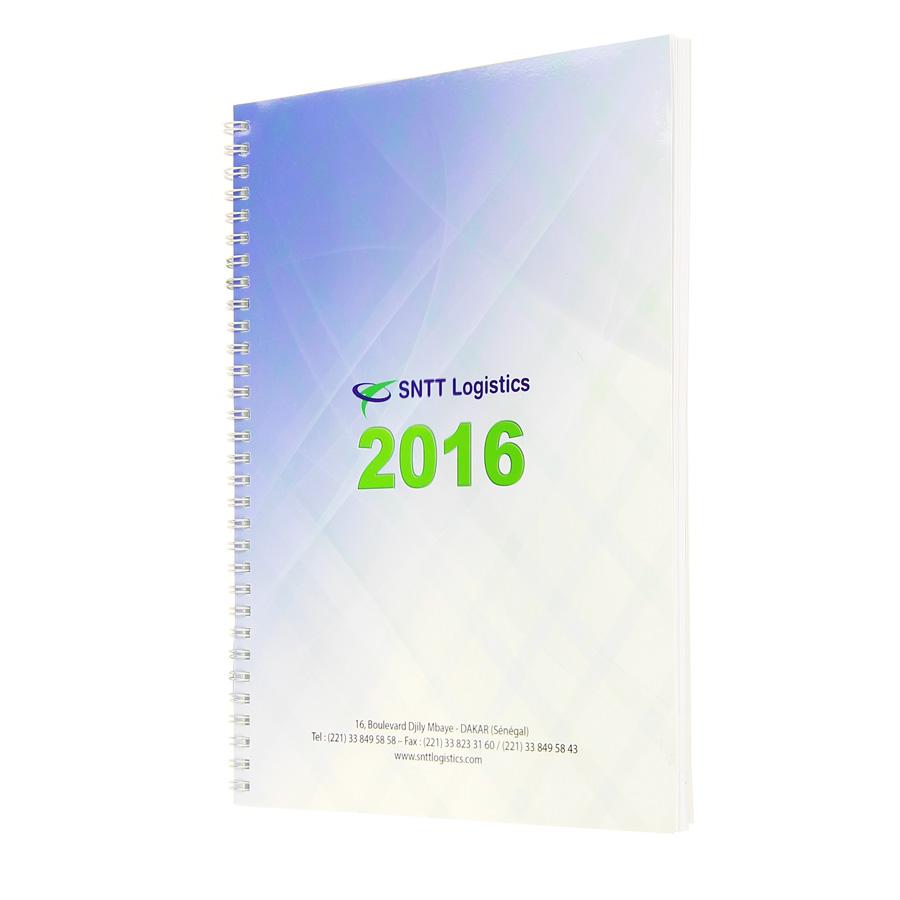 SNTT diary - Agenda Afrique, custom diaries manufacturer