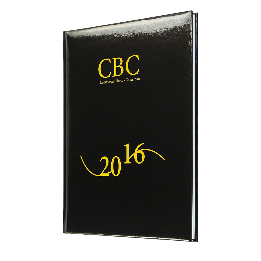 CBC diary - Agenda Afrique, custom diaries manufacturer