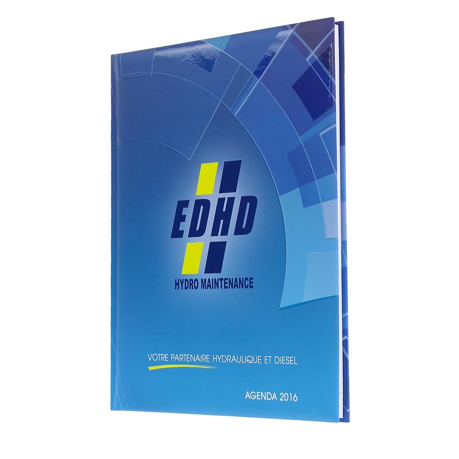 EDHD diary - Agenda Afrique, custom diaries manufacturer