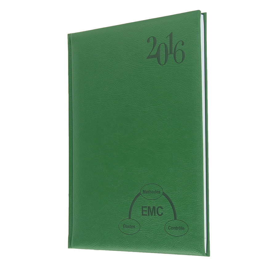 EMC diary - Agenda Afrique, manufacturer of customs diaries