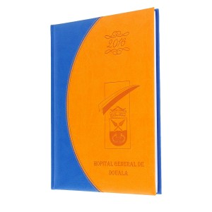 Diary of General hospital in Douala - Agenda Afrique, custom diaries manufacturer