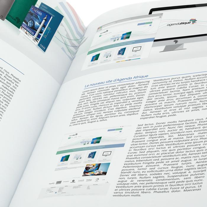 Pages personnalisées - Agenda Afrique