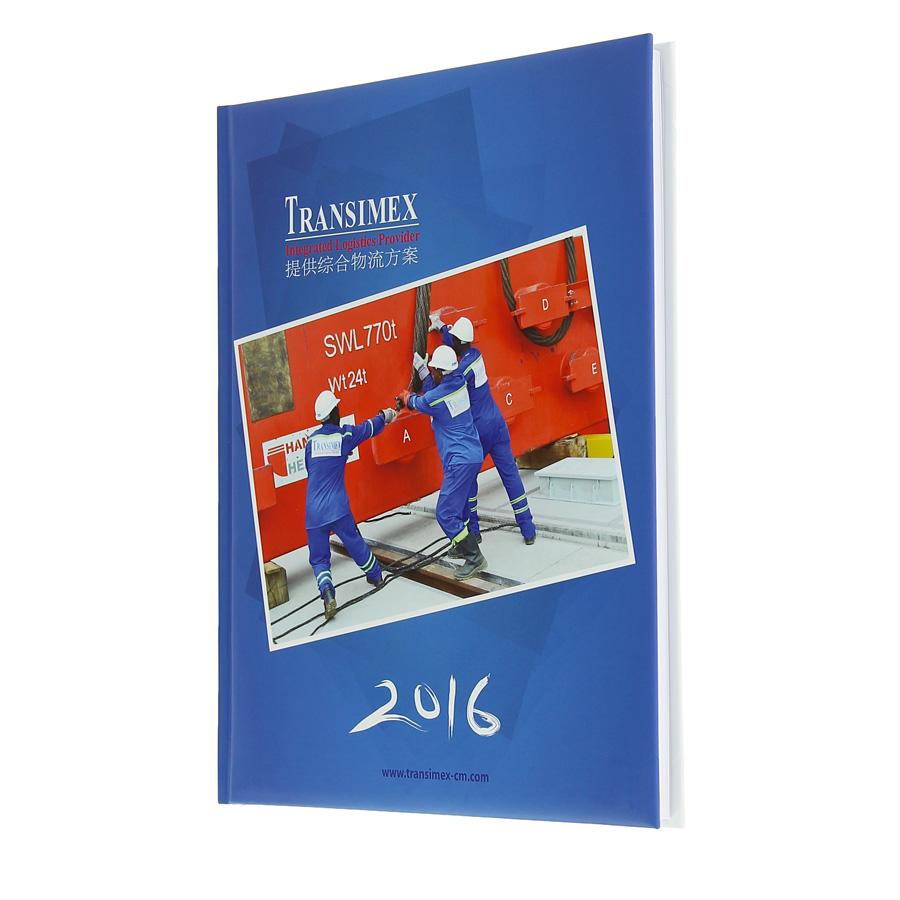Transimex diary - Agenda Afrique, custom diaries manufacturer