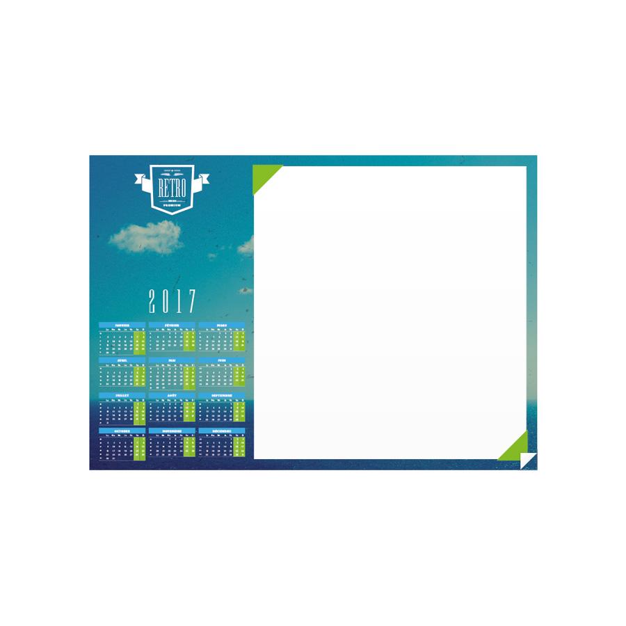 Desk Blotter Calendar Agenda Afrique Calendars Manufacturer - Desk blotter calendar