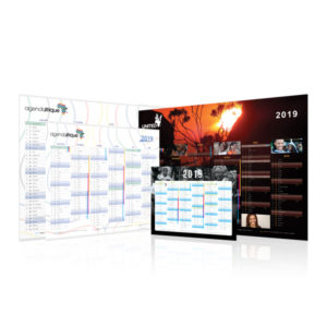 Banking calendar - Agenda Afrique Manufacturer and Printer