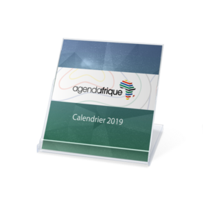 Advertising cd calendar 2018 Agenda Afrique Printer