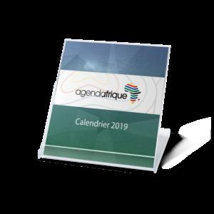 calendrier publicitaire cd 2018 - Agenda Afrique imprimeur de calendriers publicitaires