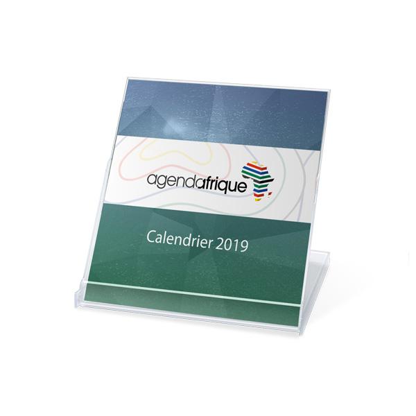 calendrier publicitaire cd 2019 - Agenda Afrique imprimeur de calendriers publicitaires