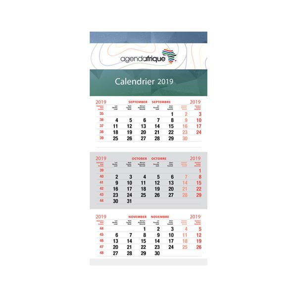 calendar 3 month