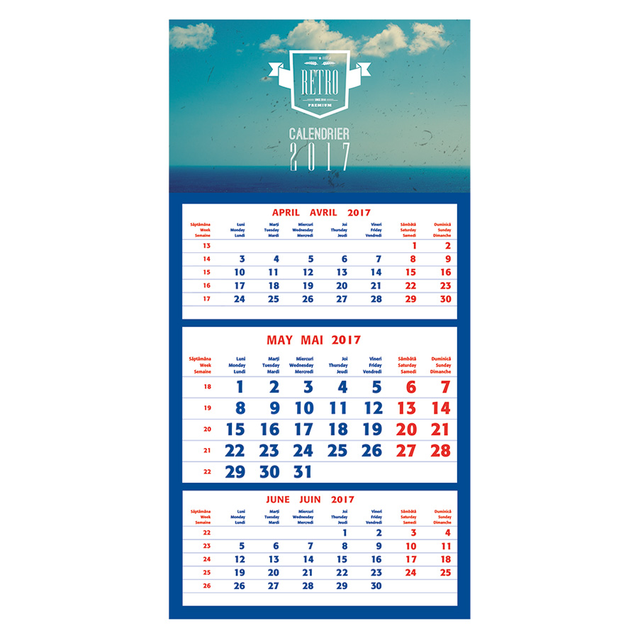 Calendrier mural tryptique agenda afrique fabricant for Calendrier mural gratuit