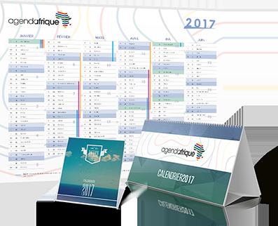 Calendriers Agenda Afrique 2017