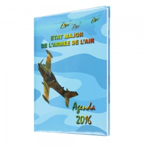 Agenda État major de l'armée de l'air - Agenda Afrique, fabricant agendas personnalisés