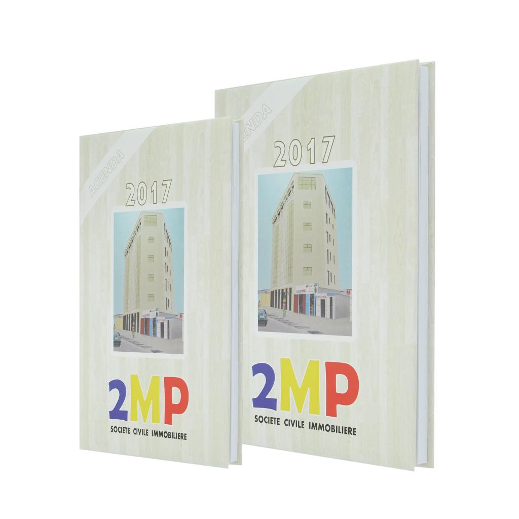 2MP Société Civile Immobilière diary Agenda Afrique