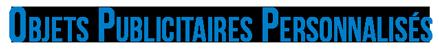 objets personnalisés - agenda-afrique