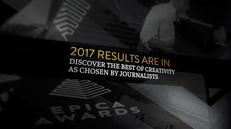 epica awards 2017 grands prix destinés aux publicités