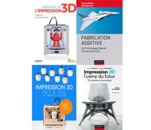 Idée cadeau : Un livre sur l'impression 3D