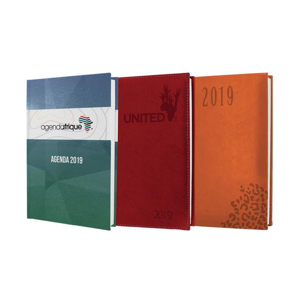 Agenda journalier Organiseur Tana 2019 - Agenda Afrique Fabricant et imprimeur agenda publicitaire entreprise