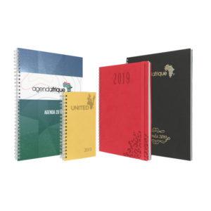 agenda publicitaire spirale sanaga - Agenda Afrique Fabricant et imprimeur agenda publicitaire entreprise