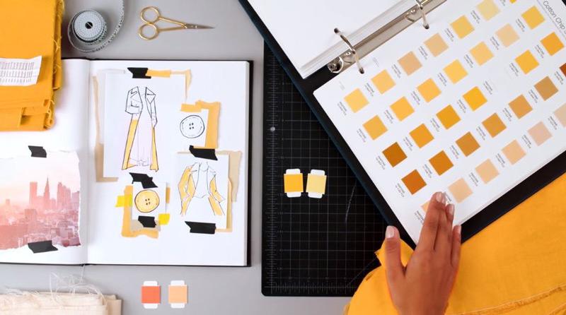 l'harmonie des couleurs - TP Sheet de Pantone